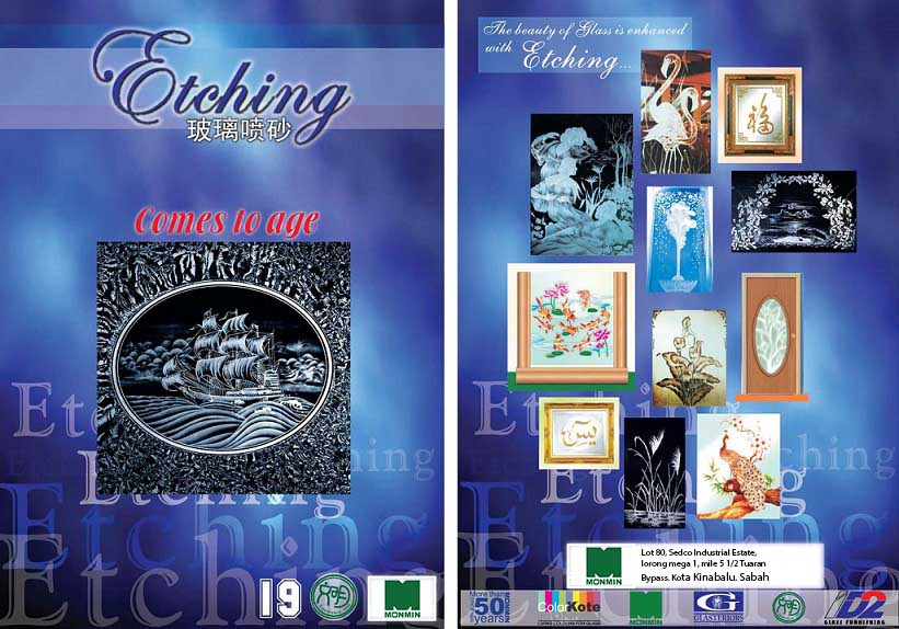 Sandblast (etching) Catalogue