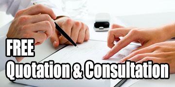 Free Quotation & Consultation